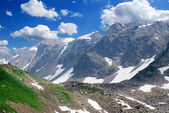 Valley in the mountains — Stock Photo