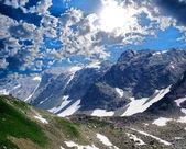 Dağ geçidi — Stok fotoğraf