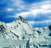 Great mountains — Stock Photo