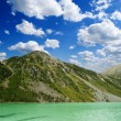 Lake near mountain — Stock Photo #8249531