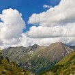Altai mountain valley panorama — Stock Photo