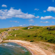 Stock Photo: Summer secoast panorama
