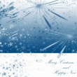 Winter holidays background — Stock Photo