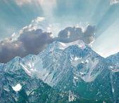 Sommardag i bergen — Stockfoto