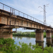 Bridge over river — Stock Photo #8402849