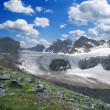 Stock Photo: Glacier in the mountains