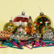 Christmas fir-tree toys - Foto de Stock