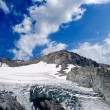 Stock Photo: Mountain glacier