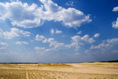 Boundless steppe — Stock Photo