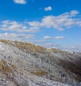 Winter-berghang — Stockfoto
