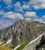 Caucazian mountains — Stock Photo