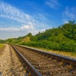 Stock Photo: Railway to far