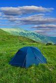 Touristic camp — Stock Photo