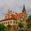 Old catholic cathedral in levoche slovakia - Stock Photo