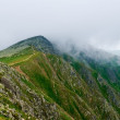 Tatra mountain in a mist — Stock Photo