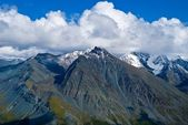 Varicoloured mountain range, altai russia — Fotografia Stock