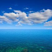 Sea with horizon — Stock Photo