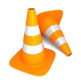 Traffic cone — Foto Stock