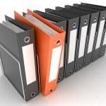 Archive folders — Stock Photo #8735624