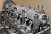 Gammal bilmotor — Stockfoto