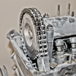Old car engine — Stock Photo #8968598