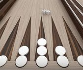 Backgammon — Stock fotografie