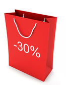 Shopping Bag (sale -30%) — Stock Photo