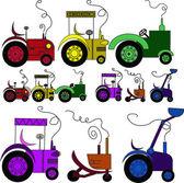 Lorries — Stock Vector