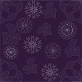 Abstract background from violet flowers — Stock Vector