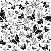 образец из бабочек — Cтоковый вектор