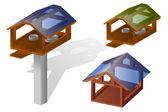 Vogelhäuschen — Stock Vector