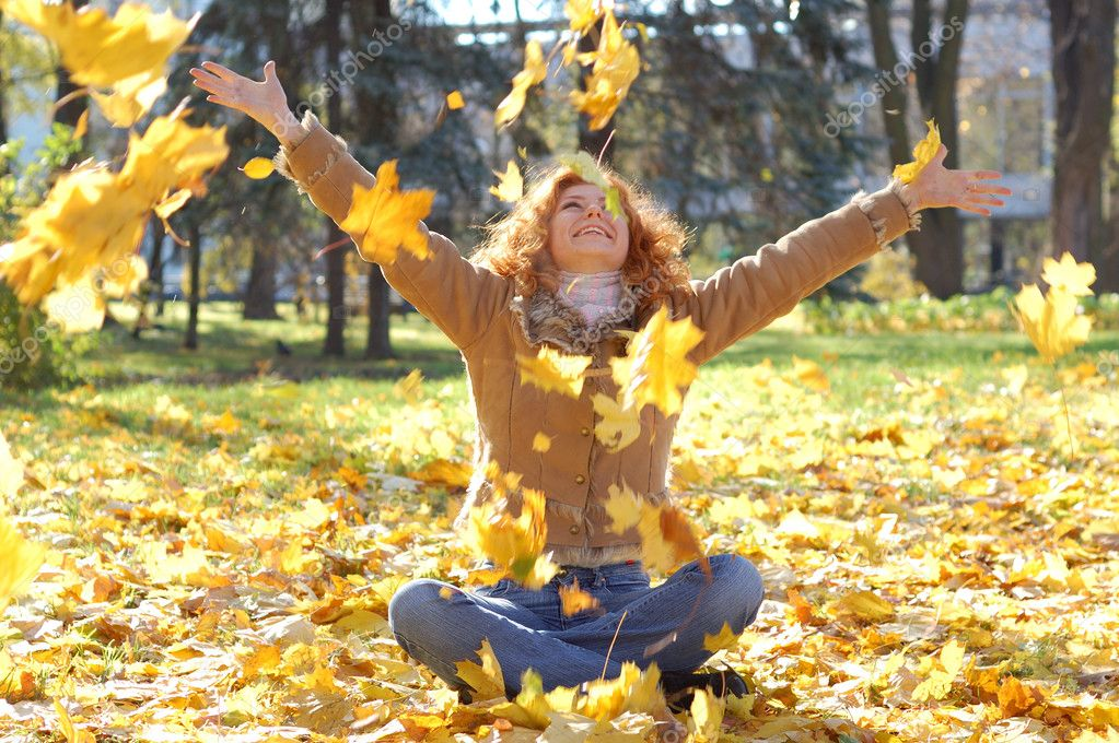 Кончается лето все ярче костры листопада