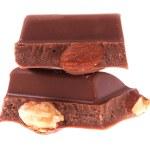 Chocolate on isolated — Stock Photo #8033084