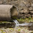 Sewage pipe — Stock Photo #8082963