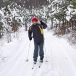 Men skiing — Stock Photo #8082995