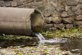 Sewage pipe — Foto de Stock
