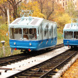 Stock Photo: Railway funicular in Kiev
