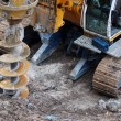 Stock Photo: Drilling construction