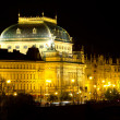National Theatre in Prague - Foto de Stock