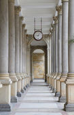 Colonnade in Karlovy Vary — Foto de Stock