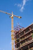 строительство нового бизнес-центра — Стоковое фото