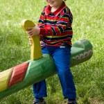Happy boy — Stock Photo #8319873