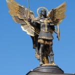 Archangel Michael in Kiev — Stock Photo