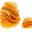 Chips isolated — Stock Photo