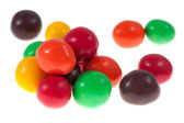 Chocolate candy isolated — Stock Photo
