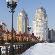 Kyiv in winter — Stock Photo