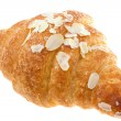 Stock Photo: Croissant on isolated