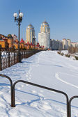 Obolon, Kyiv in winter — Stock Photo