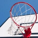 Basketball hoop — Stock Photo