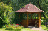 Beautiful wooden summerhouse — Foto de Stock